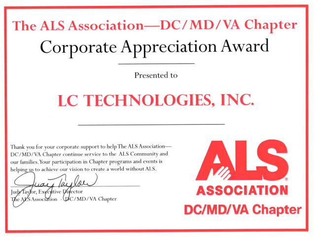 AAC at the bar! A report from Dine to Defeat ALS