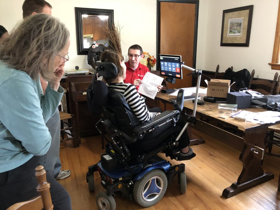 Eye Tracking Technology Enhances the Lives of ALS Patients