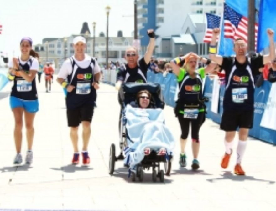 Jogger with ALS Inspires Us by Completing a Marathon