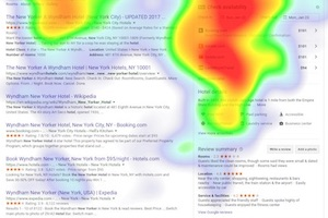Eye Tracking Research Shows How We Read SERPs