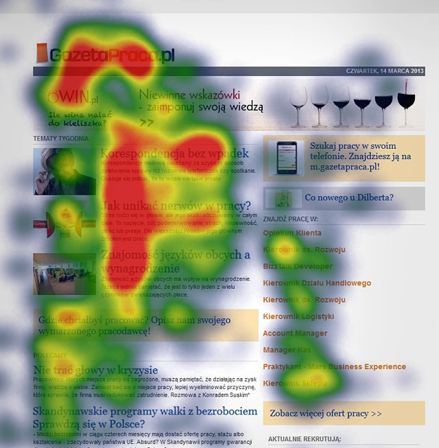 UX Lessons Learned from Eye Tracking Studies